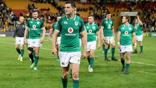 Ireland beaten in first Test against Australia