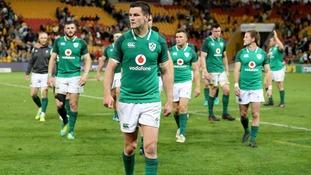 Ireland beaten in first Test against Australia