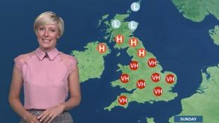 Helen has the latest pollen forecast