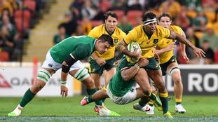 Ireland slip to first defeat in 13 matches, beaten 18-9 by Australia in Brisbane