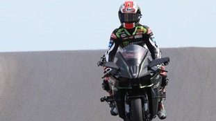 Jonathan Rea crashes out of Race 2 in Brno