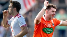 Tyrone and Armagh are celebrating progressing after Round 1 of the All-Ireland qualifiers