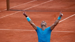 Rafa Nadal wins 11th French Open title with straight sets win over Dominic Thiem