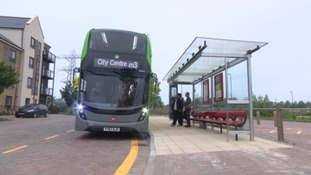 The M3 Metrobus service runs from Emersins Green to the city centre.