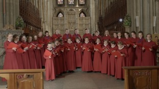 Truro's Cathedral Choir records charity single to remember Grenfell