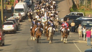 WATCH: Hundreds ride out for Lockerbie Gala