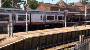 Colchester station, where commuters faced major disruption on Monday