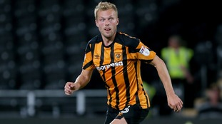 Seb Larsson in action for Hull City.