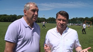 Peter Shilton and Tony Cottee look ahead to the World Cup
