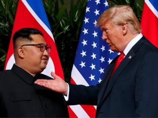 Kim Jong Un and Donald Trump have made history by meeting in Singapore.