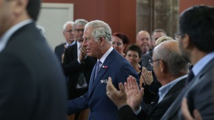 Prince Charles is visiting Northern Ireland.