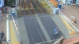 Video of level crossing near-misses released to warn of dangers