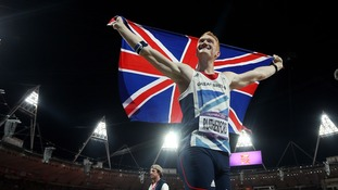 Rutherford was part of Team GB's 'Super Saturday' at the 2012 London Olympics.