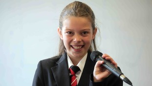 Courtney Hadwin, 13, from Hesleden