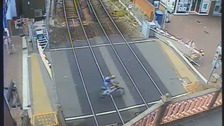People putting their lives at risk on Dorset level crossing