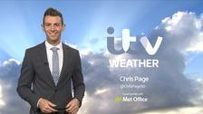Chris has the forecast for ITV Anglia