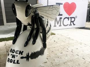 Liam's Rock 'n' Roll bee.