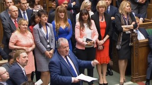 Ian Blackford repeatedly refused to take his seat.