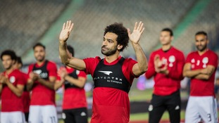 Salah returns to Egypt training ahead of World Cup