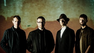 Maximo Park will be providing music for the water sculpture display.