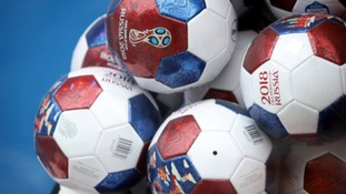 The first World Cup match get underway this afternoon.