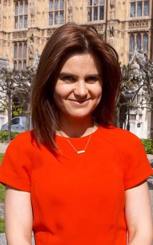 Murdered MP Jo Cox.