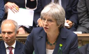 Theresa May addressed the amendments during Prime Minister's Questions.