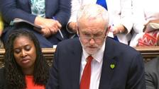 A third of Jeremy Corbyn's Labour MPs voted against the whip.