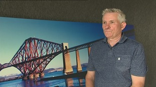 Grandad buys huge picture of Forth Rail Bridge despite it being a very familiar view
