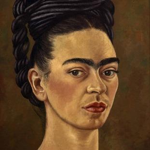 Frida Kahlo painted many self portraits.