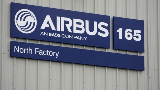 Airbus sign