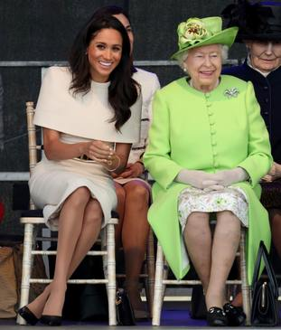 Judi James says Meghan's outfit may have restricted her natural movements.