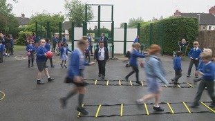 One in three children is classed as obese by the time they leave primary school.