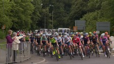 The sisters returning home as they take part in the Women's Tour