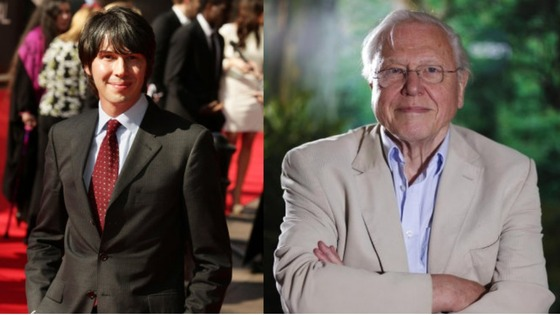 Sir David Attenborough has hailed physicist Brian Cox as his natural successor