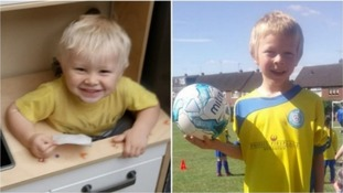 Brothers Corey and Casper Platt-May died after being hit by a car.
