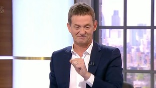 An emotional Matthew Wright tears up on air.