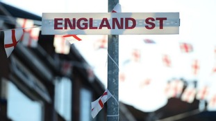 A street in Oldham has changed its name from Wales Street to England Street - in honour of the World Cup