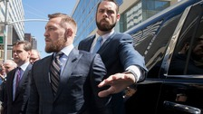 Conor McGregor appeared at Brooklyn courthouse in New York for a brief hearing