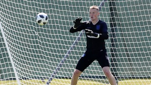 Bringing it home: We visit Pickford's old school in Washington ahead of World Cup opening match