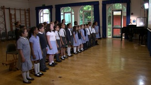 The pupils wrote and performed a song about the tragedy.