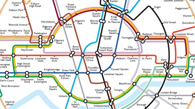 New London tube map goes round in circles  ITV News