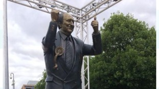 Statue of Sir Jack Hayward unveiled outside Molineux