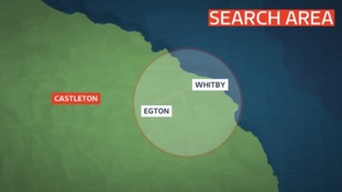 Officers searched the Egton and Whitby area, looking for the teenager.