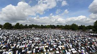 Birmingham's record-breaking Eid celebration captured in pictures