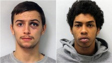 Teenage moped riders who murdered youth worker each given more than 20 years