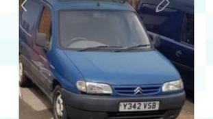Huddersfield shooting: Did you see blue van?