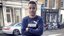 Omid Saidy was knifed in the neck after he chased two teenagers from outside his house near Parsons Green.