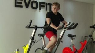 Thirteen-year-old Harrison's weight loss mission