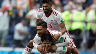 Bouhaddouz last-ditch own goal gives IR Iran a famous World Cup win over Morocco